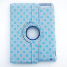 Universal 360 Rotating Leather Stand Flip Case For iPad 234 Dot Cute