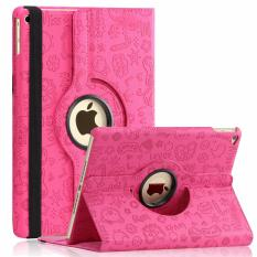 Universal 360 Rotating Leather Stand Flip Case For Ipad Mini 4 I-Cool Cute