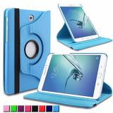 Spesifikasi Universal 360 Rotating Leather Stand Flip Case For Samsung Galaxy Tab S2 9 7 T810 T815 Terbaru