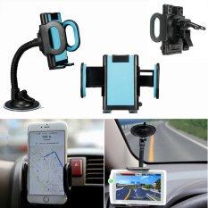 Jual Universal 360A° Kaca Depan Mobil Air Vent Mount Untuk Pemilik Stan Ponsel Gps Termurah