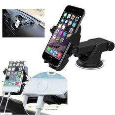 Review Terbaik Universal 360ᄚ Rotasi Otomatis Mengunci Dudukan Telepon Mobil Standing At Kaca Depan Penahan Braket For Dudukan Ponsel Gps Internasional