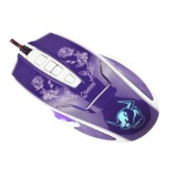 Jual Universal Auw Women Dedicated Left Roller Wired Gaming Optical Mouse X3 Hitam Universal Branded