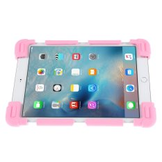 Universal Butterfly Kickstand Silicone Tablet Case untuk IPad 2/3/4/Air 2/Acer Iconia Tab A3 Dll-Pink-Intl