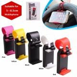 Jual Universal Mobil Roda Kemudi Soket Telepon Pemegang Klip Cerdas Mobil Auto Mount Bracket Ponsel Gps Tempat Dudukan Internasional
