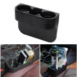 Ulasan Tentang Universal Car Storage Box Auto Drink Holder Stowing Tidying Organizer Phone Holder Stand Car Seat Cup Holder Trash Can Intl