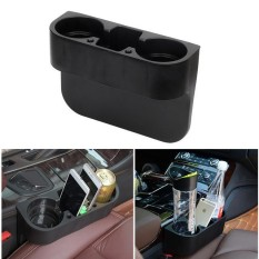 Jual Universal Car Storage Box Auto Drink Holder Stowing Tidying Organizer Phone Holder Stand Car Seat Cup Holder Trash Can Intl Di Bawah Harga