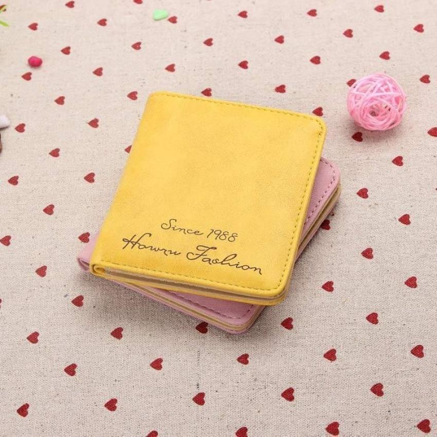 Jual Universal Dompet Retro Matte Wanita Yellow Antik