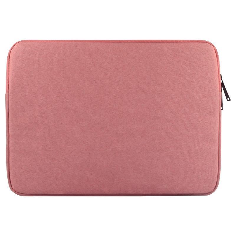 Universal Dpt Dpt Dipakai Kain Oxford Lembut Bisnis Paket Dalam Tablet Laptop, untuk 14 Inch dan Di Bawah Macbook, Samsung, Lenovo, Sony, DELL Alienware, CHUWI, ASUS, HP (Pink)-Intl