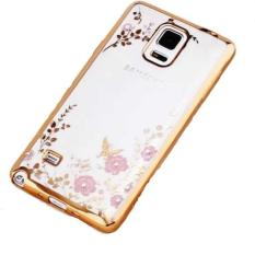 Jual Universal Flower Diamond Softcase Samsung Note 3 N900 Gold Branded Murah