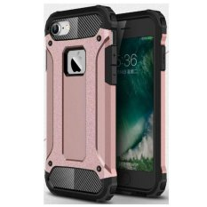 Universal Hardcase Transformers Iron Robot Case for iPhone 5S - Rose Gold