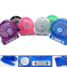 Universal Kipas Angin MIni Fan Protable Baterai / Charger Micro USB