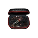 Diskon Universal Knowledge Zenith High Quality Leather Earphones Storage Case Bag Hitam Merah Universal Dki Jakarta