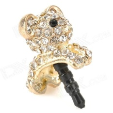 Harga Hemat Universal Koala Earphone Jack Plug Accessories