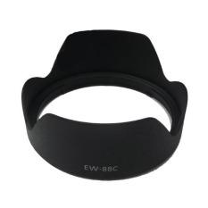 Harga Universal Lens Hood Lotus Style For Canon Camera Ew 88C Black Branded