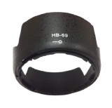 Diskon Universal Lens Hood Lotus Style For Nikon Camera Hb 69 Black Branded