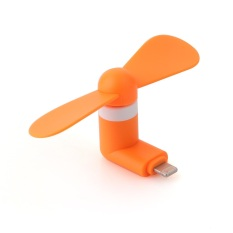 Review Universal Lightning Port 8 Pin Mini Portable Usb Fan For Iphone 5 6 Orange Universal Di Indonesia