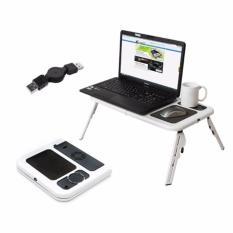 Universal Meja Laptop Lipat Plus Kipas Portable