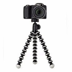 Universal Mini Tripod Stand Flexible Gorillapod Tripods Stander For GoPro Camera /iPhone /Samsung /Xiaomi /Android Phone Hitam