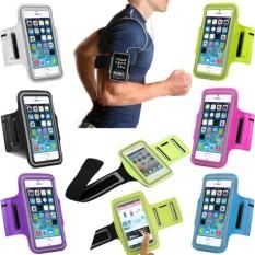 Universal Seluler Telepon Melarang Lengan Tas Olahraga Menjalankan Jogging Gimnasium Melarang Lengan Lengan Tali Case Sarung Penahan untuk Ponsel Pintar Di Bawah 5.0 inches (Hitam)