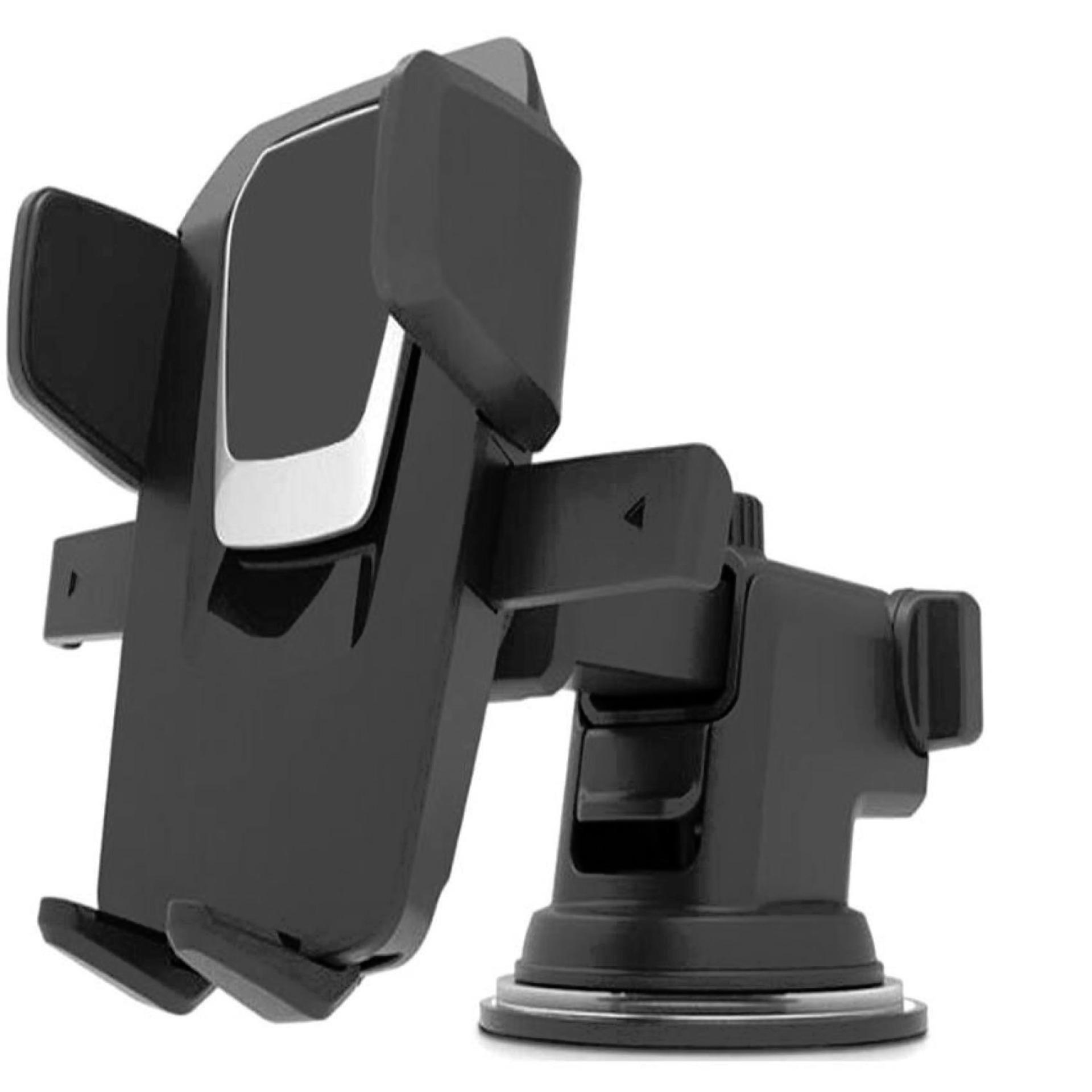 Shock Price Universal Mobile Phone Car Holder - Hitam best price - Hanya Rp80.208