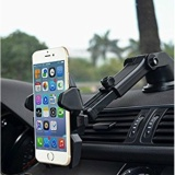 Beli Universal Mobile Phone Car Holder Sh3 Hitam Online