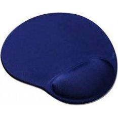 Universal Mousepad Bantal Mouse Pad Gel, Anti Slip, Nyaman - Biru