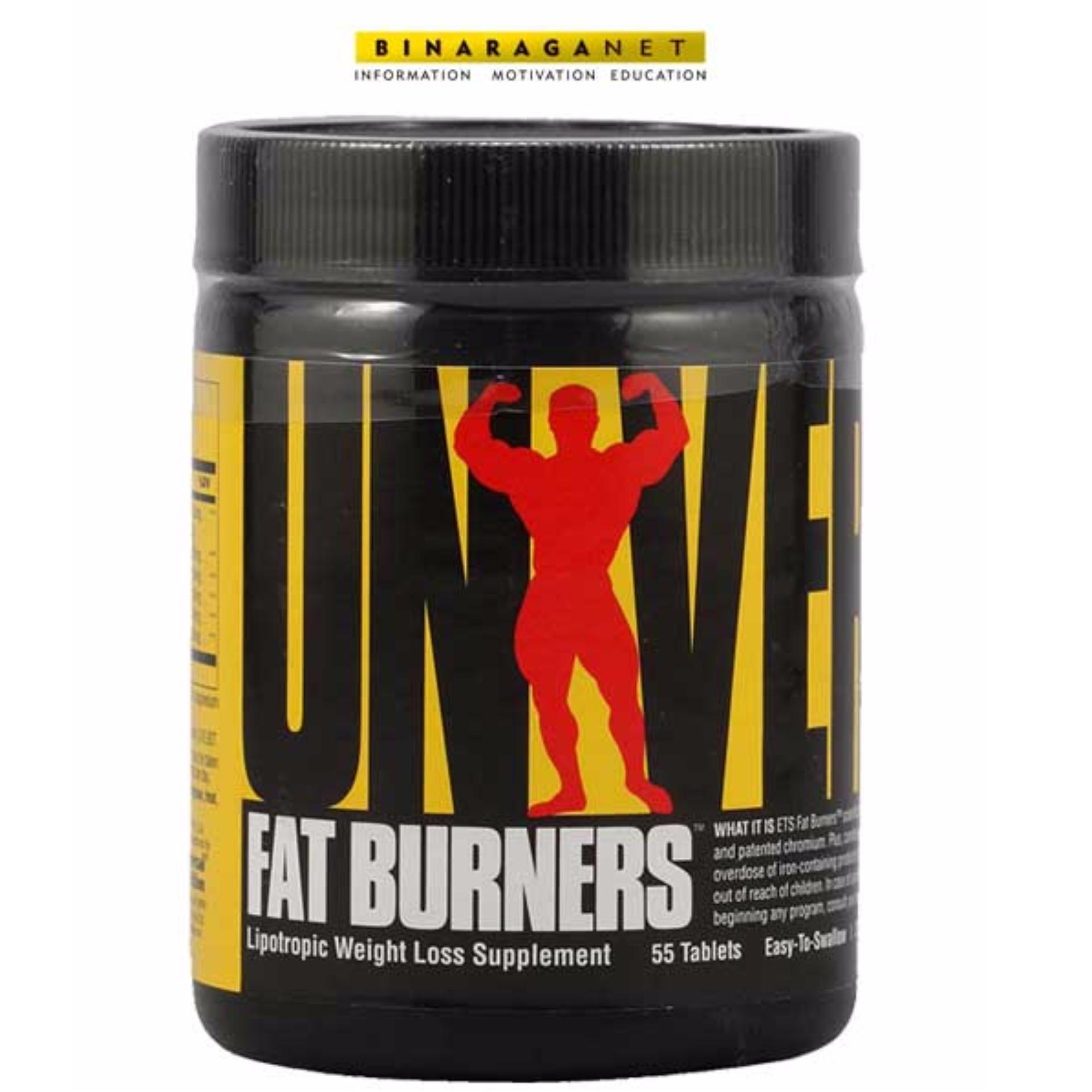 Ulasan Mengenai Universal Nutrition Fat Burners 55 Tablets