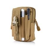 Universal Outdoor Tactical Holster Militer Molle Hip Pinggang Sabuk Tas Dompet Pouch Purse Phone Case Dengan Zipper Untuk Iphone 7 6 S Plus 5 S Samsung Galaxy S7 S6 Lg Htc Dan Lainnya Khaki Intl Murah