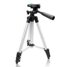 Universal Portable 4 Bagian Kamera Tripod untuk Kamera DSLR Ringan-Intl