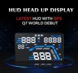 Beli Universal Q7 5 5 Auto Car Hud Gps Kepala Up Display Speedometer Overspeed Warning Dashboard Kaca Depan Proyektor Intl Murah
