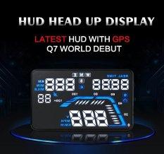 Toko Universal Q7 5 5 Auto Car Hud Gps Kepala Up Display Speedometer Overspeed Warning Dashboard Kaca Depan Proyektor Intl Lengkap Di Tiongkok