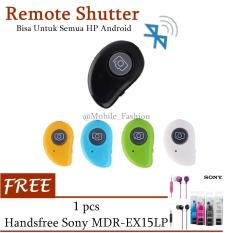 Universal Remote Shutter Tomsis Bluetooth Camera Android & iOS FREE Handsfree SONY MDR-EX15LP