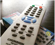Universal - Remote Tv Chunshin Rm92G Untuk Sanken TV Model Tabung