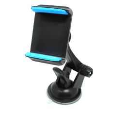 Universal Smartphone Holder Mobil Suction Cup Stand Hp 161107 Blue Original