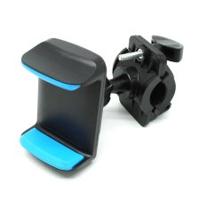 Jual Universal Smartphone Holder Sepeda Stand Hp Blue Murah Indonesia