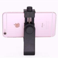 Ulasan Mengenai Universal Smartphone Tripod Adjustable Clamp Adapter Ponsel Holder Mount Adaptor Berputar Vertikal Dan Horizontal Intl