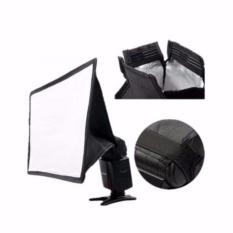 Universal Softbox Flash Diffuser Camera DSLR 15x17 cm - Hitam