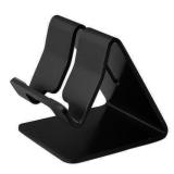 Spesifikasi Penahan Universal Solid Aluminum Alloy Metal Mobile Phone Desktop Untuk Phone Ipad Hitam Bagus