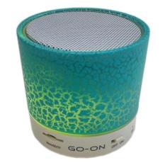 Universal Speaker Bluetooth Full Led Go On Bt600 White Diskon Indonesia