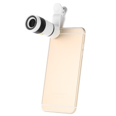 Universal Desain Khusus 8X Zoom Phone Lensa Kamera Telephoto dengan Klip untuk IPhone Samsung HTC-Intl