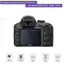 Universal Tempered Glass / Screen Protector For Nikon D3000/3100/3200/3300