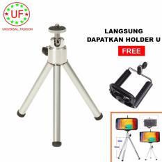Universal Tripod Mini Multifungsi for Handphone And Kamera + Holder U