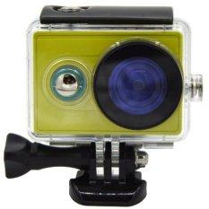 Universal Underwater Waterproof Anti Blur Case IPX68 40m for Xiaomi Yi Sports Camera - Hitam
