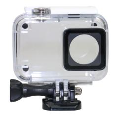 Spesifikasi Universal Underwater Waterproof Case Ipx 8 45M For Xiaomi Yi 2 4K White Bagus