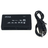 Universal Usb 2 Card Reader For Sd Xd Mmc Ms Cf Sdhc Tf Micro Sd M2 Adapter Black Universal Diskon 40