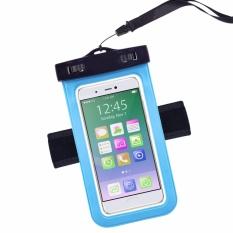 Universal Tahan Air Case, Ponsel Tas Kering dengan Ban Lengan Tali Leher untuk iPhone 7, 7 Plus, 6 S, 6, 6 S Plus, SE, 5 S, Note5, S7 Edge Xiaomi Note 4, huawei P9, VIVO V5, OPPO F1S LG Blu Huawei & Perangkat Lain Hingga 6