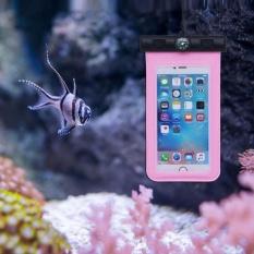 Universal Tahan Air Case untuk Iphone 6 Plus Kering Dibawah Air Tas Dompet + Kompas untuk 5.5