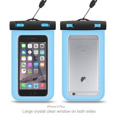 Universal Waterproof Case, Dry Bag Pouch untuk Apple IPhone 6 S 6,6 S Plus, 7 SE 5 S, Samsung Galaxy S7, S6 Catatan 5 4, HTC LG Sony Nokia Motorola Sampai 5.7