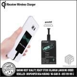 Spesifikasi Qi Wireless Charger Micro Usb Receiver Positif Port For Smartphone Yang Bagus Dan Murah