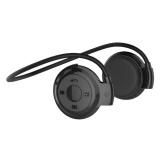 Universal Wireless Stereo Bluetooth Sport Headset With Microphone Mini503 Black Diskon Akhir Tahun